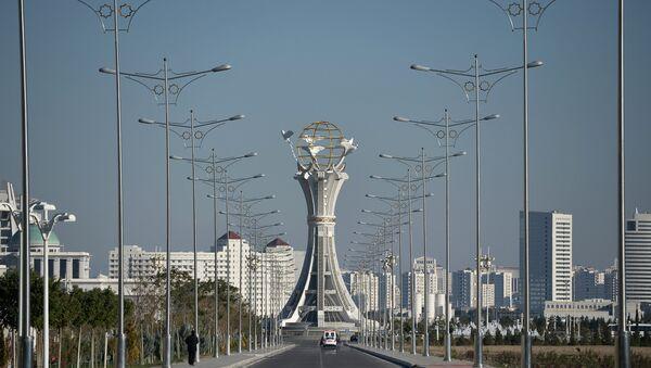 Города Ашхабад, фото из архива - Sputnik Азербайджан
