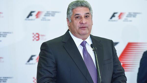 Министр молодежи и спорта Азербайджана Азад Рагимов - Sputnik Азербайджан