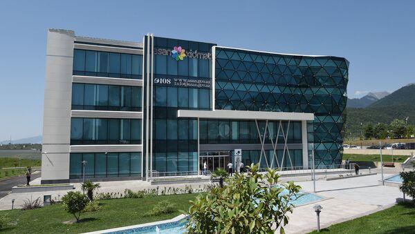 Центр ASAN Xidmət в Габале, архивное фото - Sputnik Азербайджан