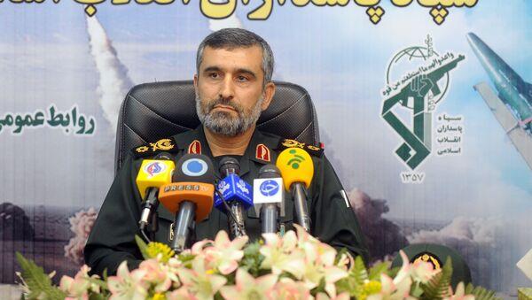 Бригадный генерал Ирана Амир Али Хаджизаде, фото из архива - Sputnik Азербайджан