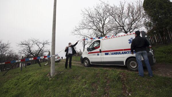 Карета скорой помощи в Сербии, фото из архива - Sputnik Азербайджан