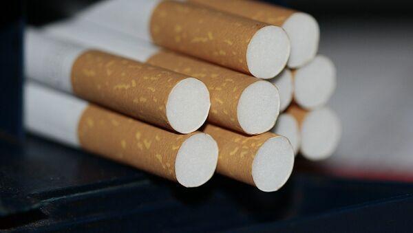 Сигареты, фото из архива - Sputnik Azərbaycan