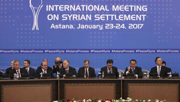 Переговоры о будущем Сирии в Астане, фото из архива - Sputnik Азербайджан