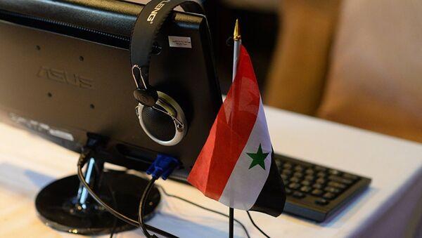 Флаг Сирии - Sputnik Азербайджан