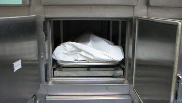 Тело в морге, фото из архива - Sputnik Азербайджан