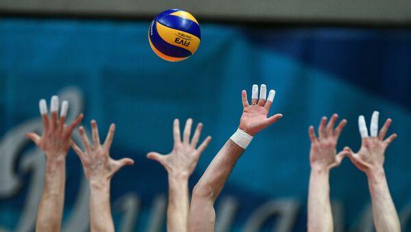 Волейбол, фото из архива - Sputnik Азербайджан