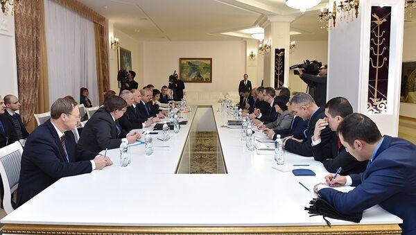 Участники встречи по Сирии в Астане - Sputnik Азербайджан