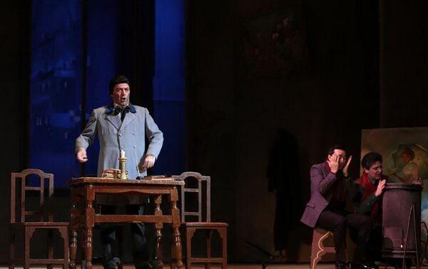 Опера Богема по произведению Джованни Пуччини - Sputnik Азербайджан