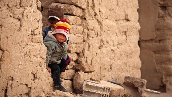Дети-беженцы в Мосуле, фото из архива - Sputnik Азербайджан