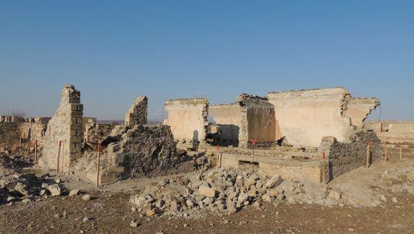 Освобожденное от оккупации село Джоджуг Мерджанлы Джабраильского района, фото из архива - Sputnik Азербайджан