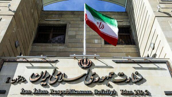 Здание посольства Ирана в Баку - Sputnik Азербайджан