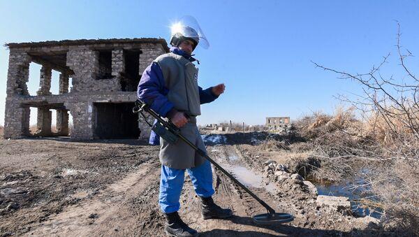 Освобожденное от оккупации село Джоджуг Мерджанлы Джабраильского района - Sputnik Азербайджан
