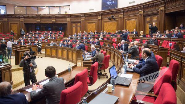 Заседание Национального Собрания РА - Sputnik Азербайджан