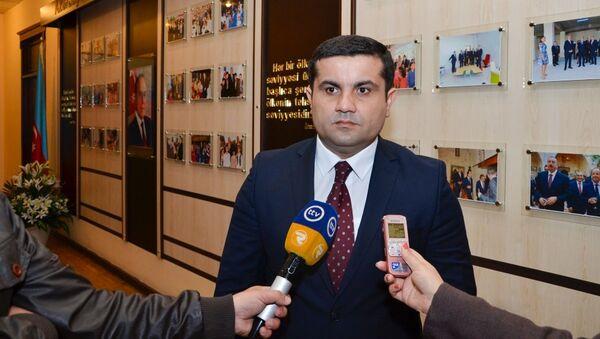 Глава Аппарата омбудсмена Азербайджана Айдын Сафиханлы, фото из архивы - Sputnik Азербайджан