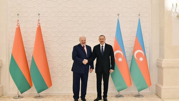 İlham Əliyev və Aleksandr Lukaşenko - Sputnik Azərbaycan