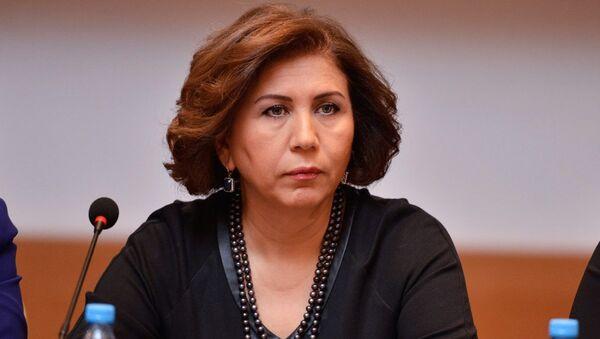 Вице-спикер Милли меджлиса Бахар Мурадова, фото из архива - Sputnik Азербайджан