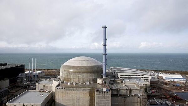 Fransada Flamanvil Atom Elektrik Stansiyası, arxiv şəkli - Sputnik Azərbaycan