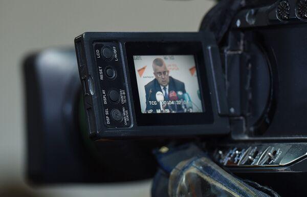 Встреча с журналистами на тему Азербайджано-российский диалог за 25 лет: акценты и перспективы - Sputnik Азербайджан