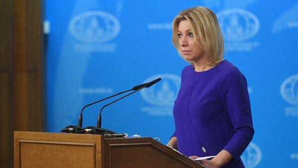 Брифинг официального представителя МИД России М. Захаровой, архивное фото - Sputnik Азербайджан