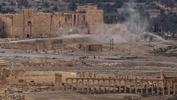 Пальмира, фото из архива - Sputnik Азербайджан