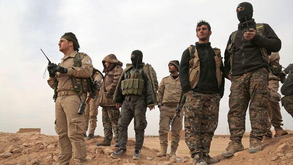 Солдаты ВС Турции в Сирии, фото из архива - Sputnik Азербайджан