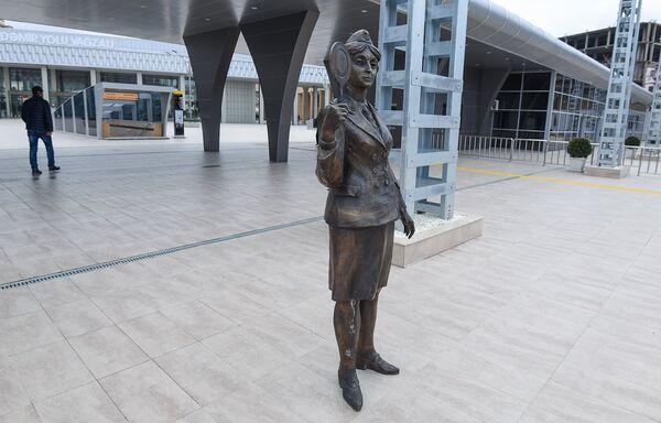 Бакинский железнодорожный вокзал после реконструкции и модернизации - Sputnik Азербайджан