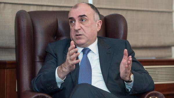 Глава МИД Азербайджана Эльмар Мамедъяров - Sputnik Азербайджан