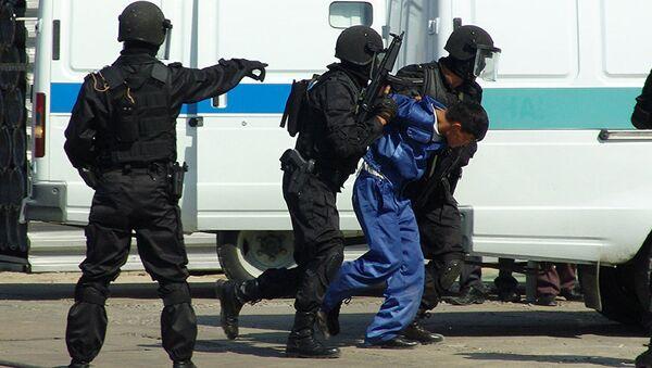 Бойцы спецназа Казахстана, фото из архива - Sputnik Азербайджан