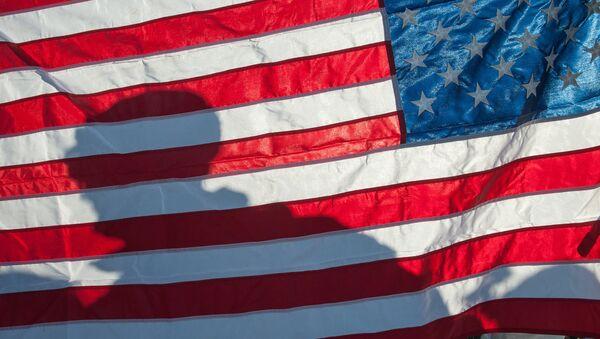 Флаг Соединённых Штатов Америки, фото из архива - Sputnik Азербайджан