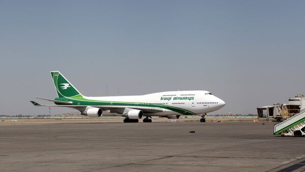 Самолет авиакомпании Iraqi Airways, архивное фото - Sputnik Азербайджан