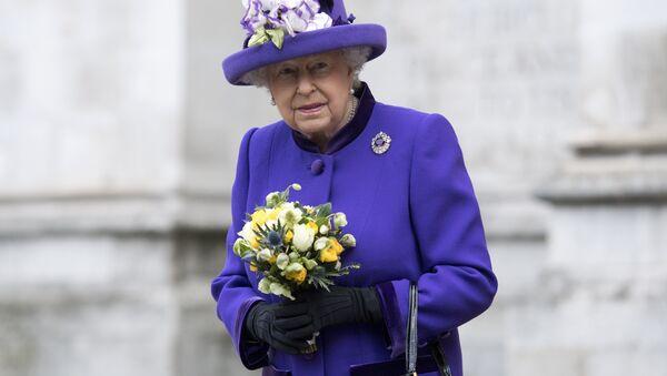 Британская королева Елизавета Вторая, фото из архива - Sputnik Азербайджан