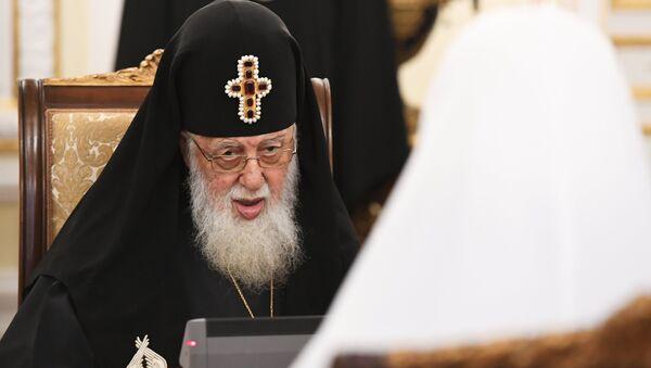 Католикос-патриарх всея Грузии Илия II, фото из архива - Sputnik Азербайджан