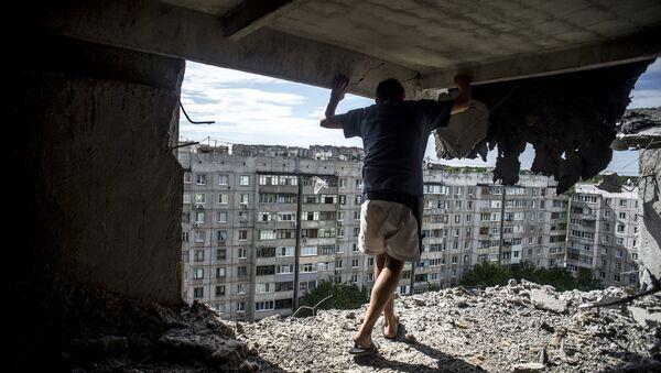 Фотокорреспондент Sputnik Валерий Мельников занял первое место на конкурсе World Press Photo 2016 - Sputnik Азербайджан