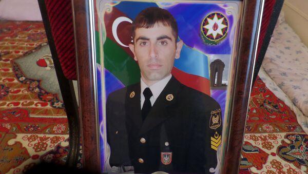 Şəhid Fuad Qafarov - Sputnik Azərbaycan