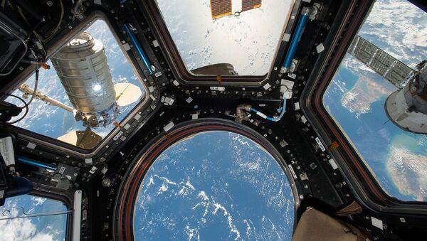 Международная космическая станция, фото из архива - Sputnik Азербайджан