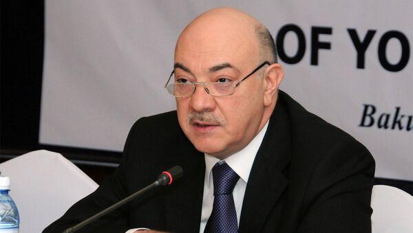 Заведующий отделом по работе с правоохранительными органами Администрации Президента Азербайджанской Республики Фуад Алескеров - Sputnik Азербайджан