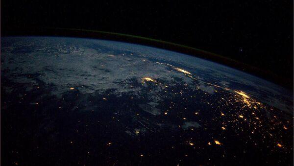 Вид Земли с Международной космической станции - Sputnik Azərbaycan