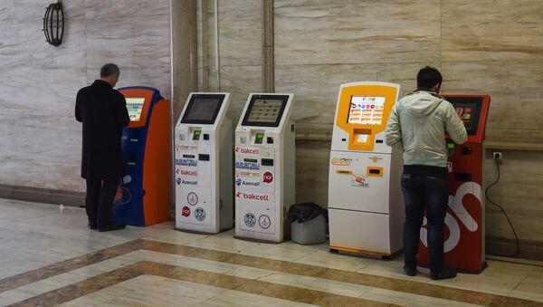 Платежные терминалы в Баку, фото из архива - Sputnik Азербайджан
