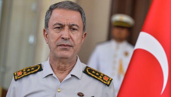 Начальник Генерального штаба Турции генерал армии Хулуси Акар - Sputnik Азербайджан