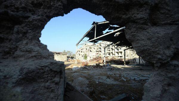 Разрушенные здания в Сирии, фото из архива - Sputnik Азербайджан
