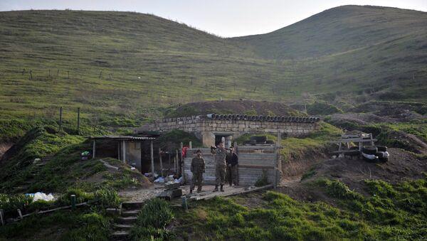 Ситуация в зоне карабахского конфликта, фото из архива - Sputnik Азербайджан