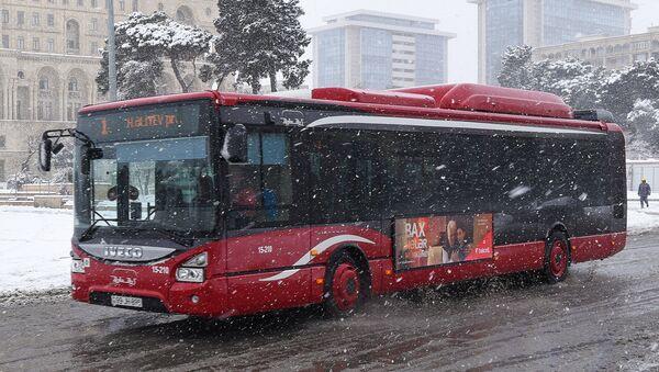 BakuBus MMC-yə aid avtobus - Sputnik Azərbaycan