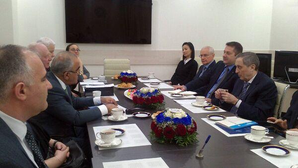 Мероприятие, посвященное 110-летию Российского экономического университета - Sputnik Азербайджан