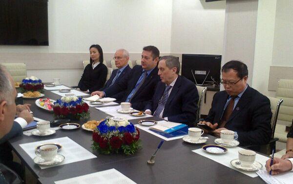 В ходе деловой встречи состоялся обмен мнениями по важным вопросам - Sputnik Азербайджан