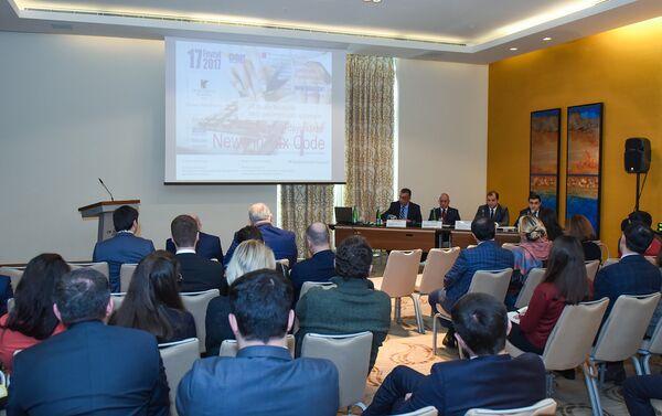 Встреча Ассоциации отелей и ресторанов Азербайджана с представителями Министерства налогов - Sputnik Азербайджан