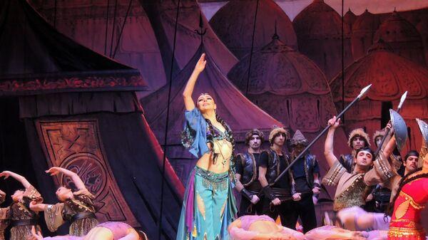 Балет Половецкие пляски композитора Александра Бородина - Sputnik Азербайджан