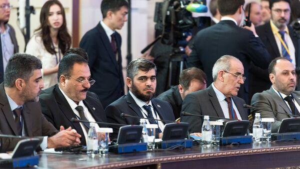 Встреча по Сирии в Астане - Sputnik Азербайджан