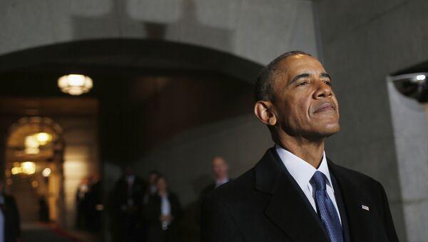 Экс-президент США Барак Обама, фото из архива - Sputnik Азербайджан