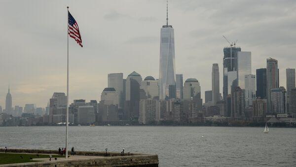 Вид на Манхэттен в Нью-Йорке - Sputnik Азербайджан