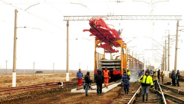 Qarabucaq-Kürdəmir mənzilində 9 km yol yenilənir - Sputnik Azərbaycan